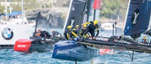 Louis Vuitton America's Cup World Series Oman : Ainslie beats Spithill in Oman as overall series leaderboard tightens
