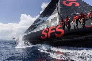 900 Nautiques : SFS II Premier arrivé dans le coup de vent