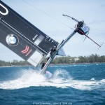 15/02/16 - Hamilton (BDA) - 35th America's Cup Bermuda 2017 - ORACLE TEAM USA - AC45S training