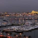 Palma BOat Show- by night
