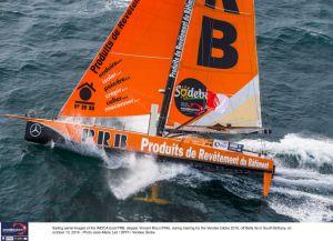 Vendée Globe : Avarie de quille sur PRB, Vincent Riou contraint à l'abandon