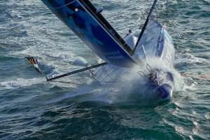 Vendée Globe : Armel Le Cléach first to Cape Horn after 47 days