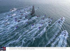Thomson claims second in historic Vendée Globe race