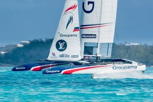 Groupama Team France will not progress to the Louis Vuitton America's Cup challenger playoffs