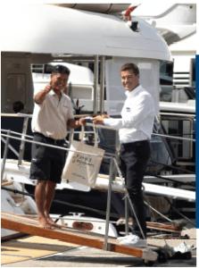 Riviera Ports : l'accueil attitude