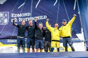 Le Maxi Edmond de Rothschild remporte la Rolex Fastnet Race en Ultime quelques secondes devant le Trimaran MACIF