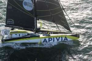 Apivia wins the Transat Jacques Vabre Normandie Le Havre IMOCA