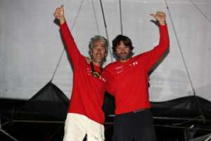 Route du Café : Groupe GCA – Mille et un sourires wins the Transat Jacque Vabre Normandie Le Havre Multi50