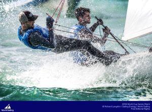 Kévin Peponnet et Jérémie Mion qualifiés pour les Jeux Olympiques de Tokyo 2020