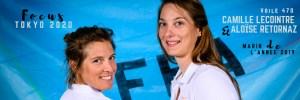 Camille Lecointre et Aloïse Retornaz de retour à l'entraînement
