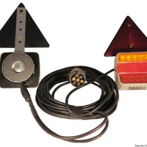 Kit Luci A Led Fissaggio Magnetico 4 Funzioni 02 023 22 Osculati