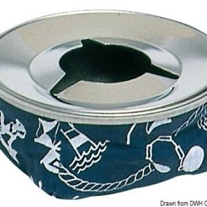 Posacenere Acciaio Inox Blu 32 507 00bl Osculati