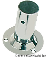Basetta Rettangolare Inox 60 22 Mm 41 132 22 Osculati