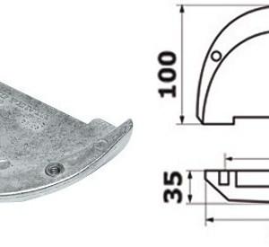 Aspiratore Staffa 12 V 11 5 A 16 107 01 Osculati