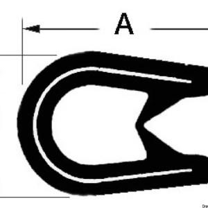Catena Inox Calibrata 10 Mm X 25 M 01 375 10 025 Osculati