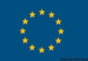 Bandiera Europa Italia 20 X 30 Cm 35 440 01 Osculati