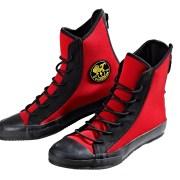 Poseidon One Shoe red black