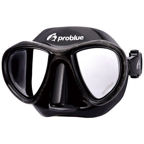 Problue Freediving Mask Camou Gray MS-249B-C