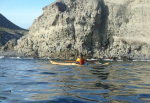 3 nautilus wooden kayaks Cabo de gata 2017 macarena 1
