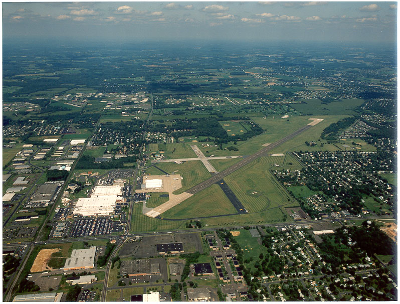 Present day Warminster Naval Air Development Center