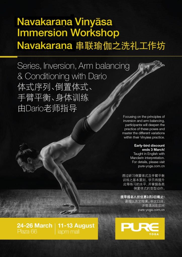 Navakaraṇa Vinyāsa Immersion Workshop Shanghai