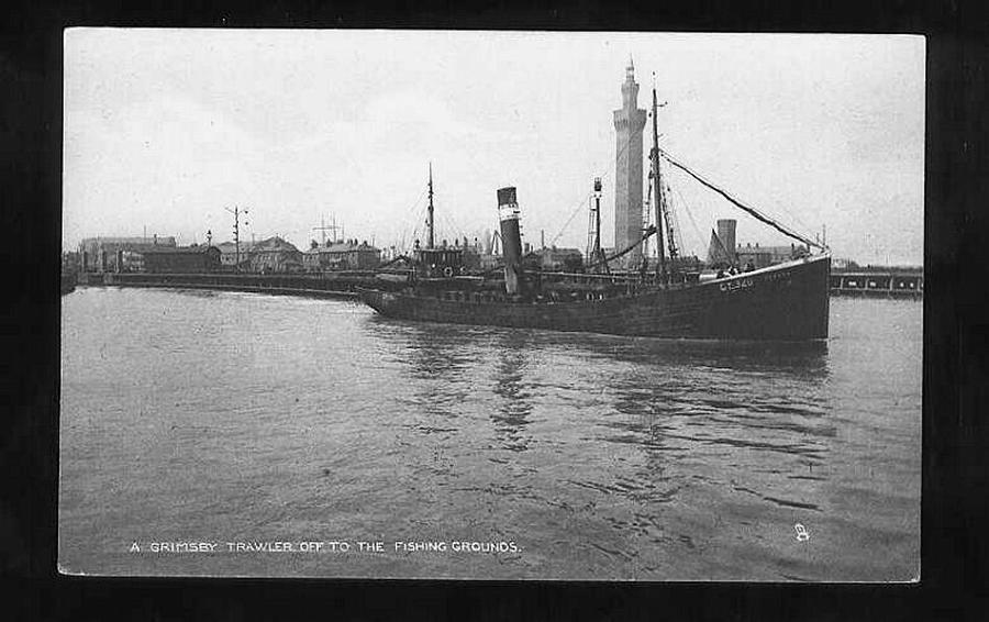 Royal Navy Vessels By Fishery Port Registration NUmber 1914 19