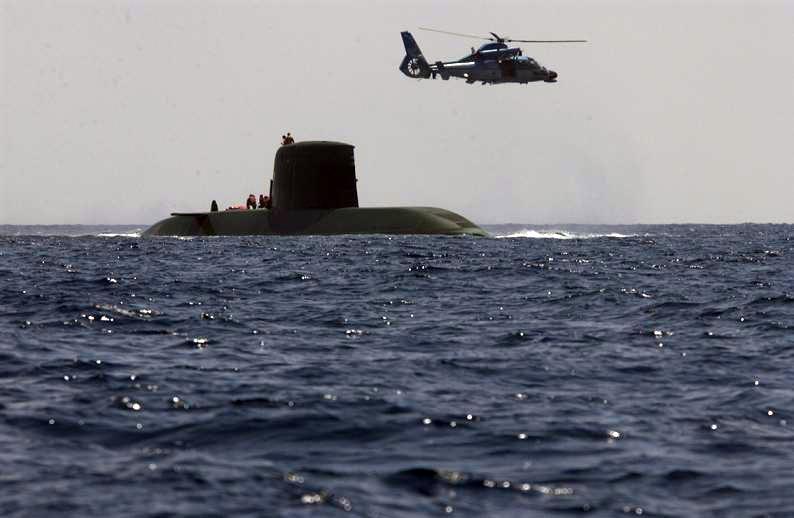 Type 800 israelita da Classe Dolphin (http://www.naval.com.br)
