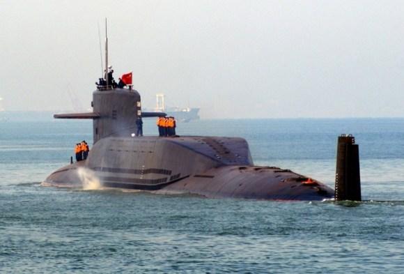 """SSBN Type 094 classe """"Jin"""""""