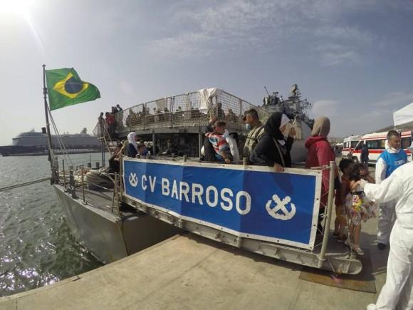 Barroso - resgate refugiados Mediterraneo - foto 10 facebook MB