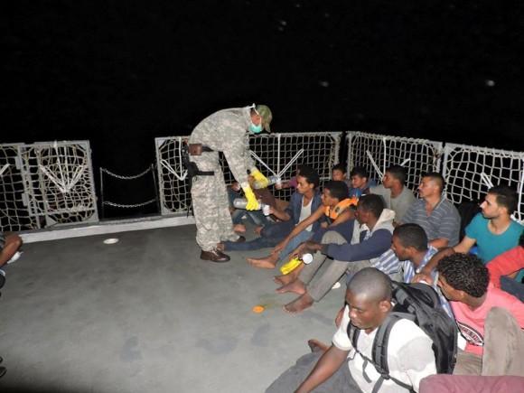 Barroso - resgate refugiados Mediterraneo - foto 2 facebook MB