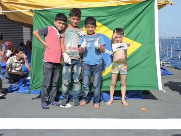 Barroso - resgate refugiados Mediterraneo - foto 7 facebook MB