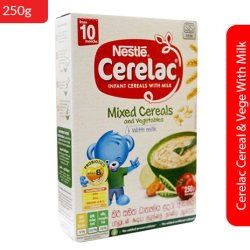 Cereal & Vege With Milk 250g