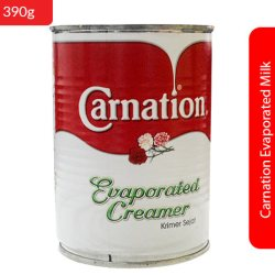 Carnation Evaporated Milk 390g