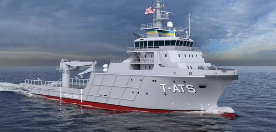 Gulf Island Shipyard Laid Keel Of First In Class T Ats For