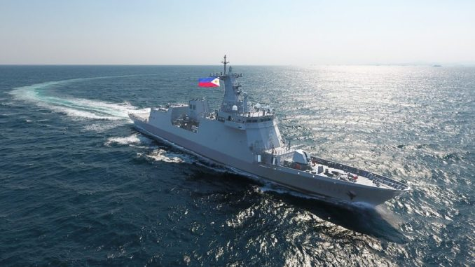 HHI Delivers the Latest Frigate with Quarantine Masks to the Philippine Navy