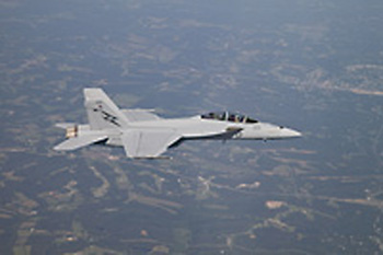 fa-18f-first flight 20jul09