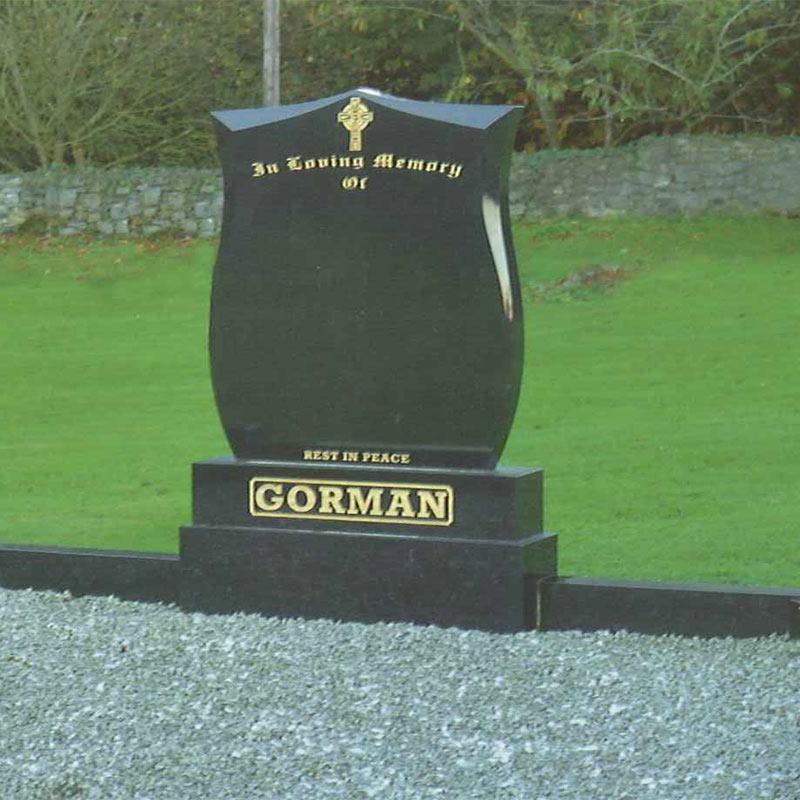 Black-Shield-Marble-Headstone-Navan-Memorials