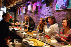 Siete periodistas holandeses y belgas visitan Navarra