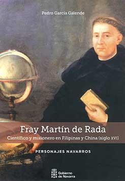 """Portada del libro """"Fray Martín de Rada"""""""
