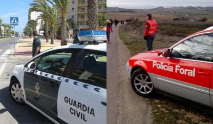 Guardia Civil, Policía Foral y Local vigilarán los neumáticos y el alumbrado de los vehículos