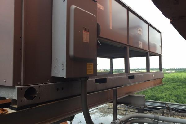 100% Fresh Air Condenser unit 3