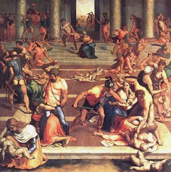 Herodes manda a matar a los niños