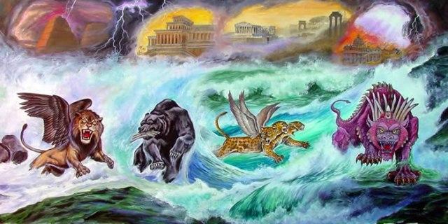 Las cuatro bestias del mar
