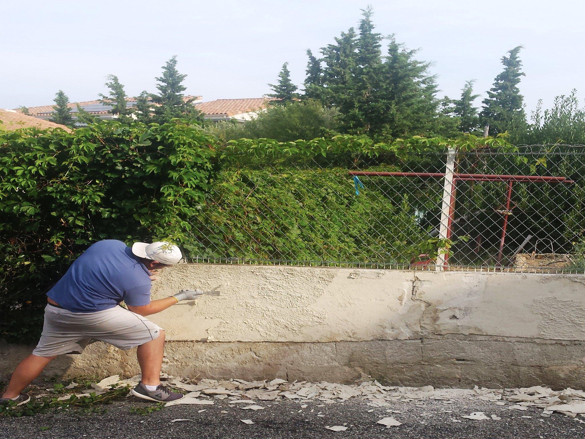 mur de clôture 31