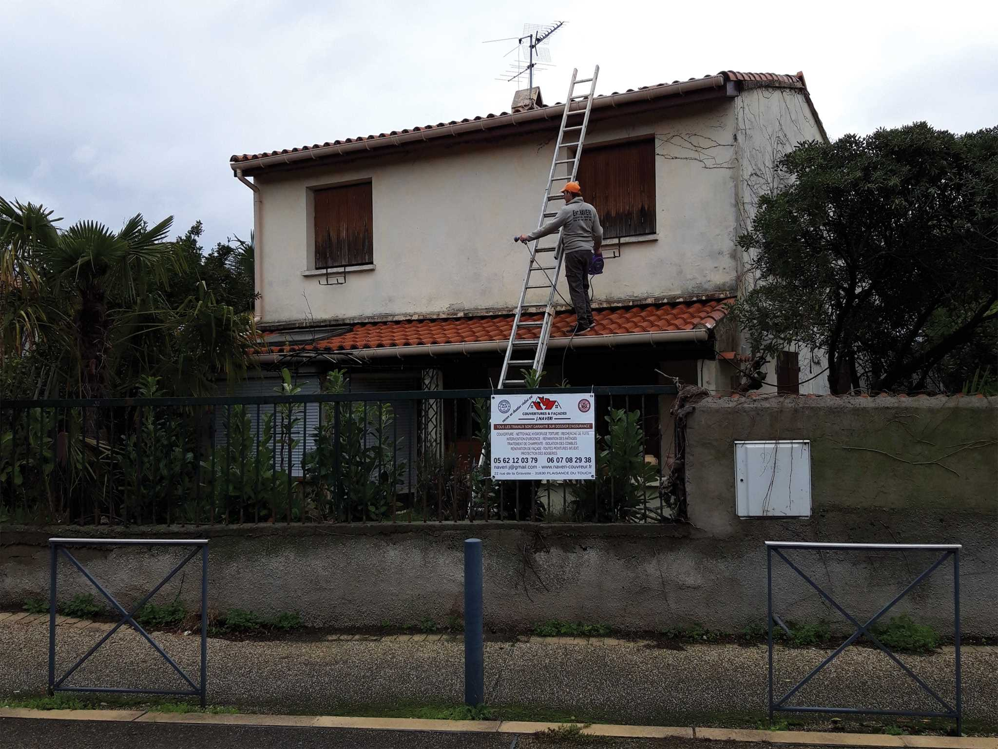 Réparation Toiture Blagnac