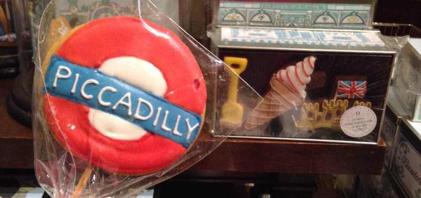 フォートナム&メイソンでbiscuiteersのおしゃれクッキー発見