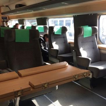 一等車で北欧電車の旅 ストックホルムからオスロへ