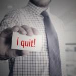 employees quit