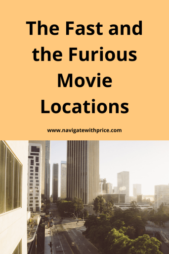 The Fast and the Furious movie locations are all around California and easy to find. I have enjoyed locating some of these famous locations.