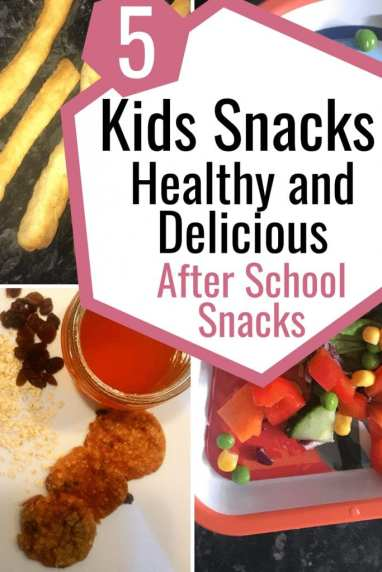 5 After School Snacks for Kids